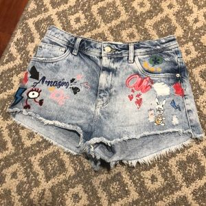 Zara Jeans shorts Trf denim